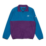 Castanza Fleece Half Zip Jacket (Baby Blue / Lavender)
