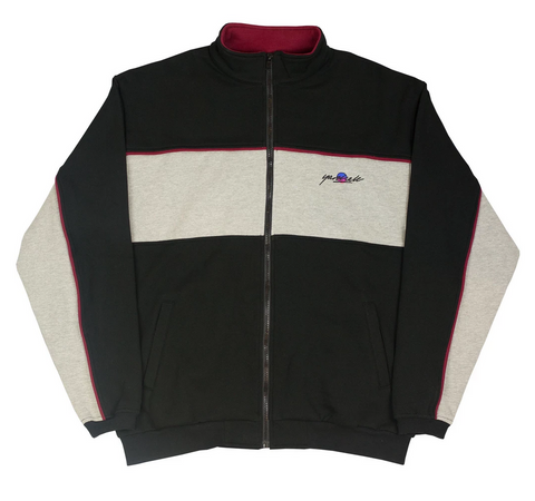 Southside Track Top (Black/Heather)