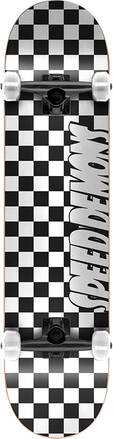 Checker Board Complete Skateboard (Black/White)
