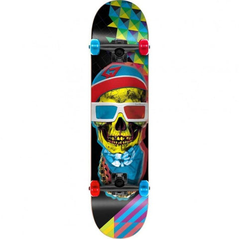 Mix Graphic Skateboard