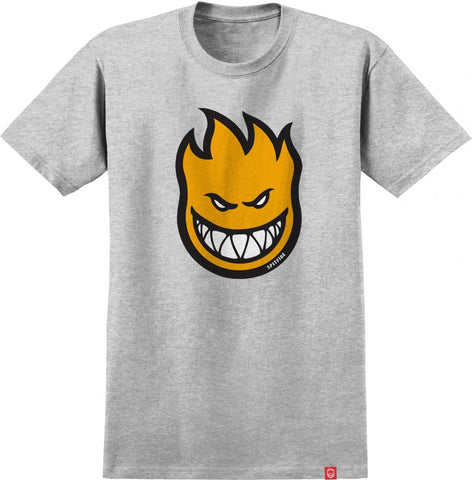 Bighead Fill Tee (Athletic Heather/Yellow)