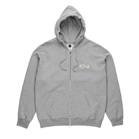 Stroke Logo Zip Hoody (Heather)