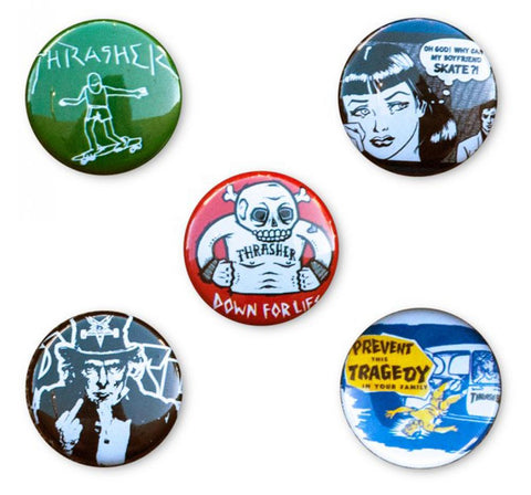 Thrasher Badges