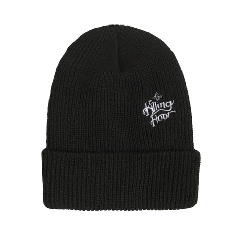 TKF Embroidery Beanie (Black)