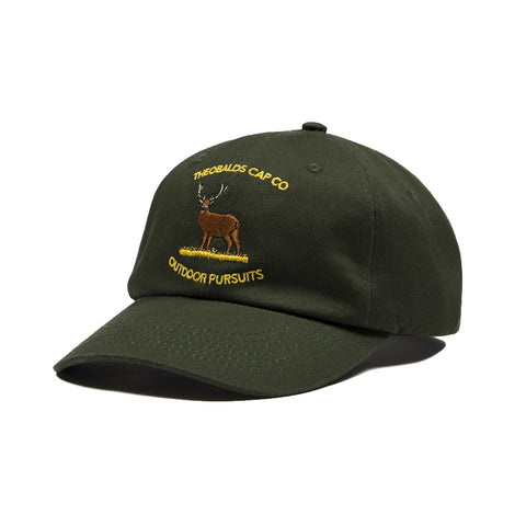 Outdoor Pursuits Deer Baseball Cap (Warden Green)