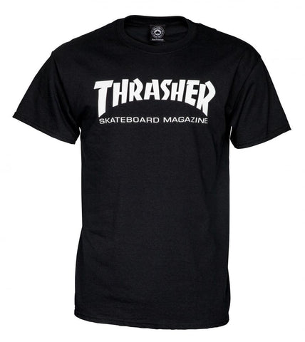 Thrasher Logo Tee (Black)