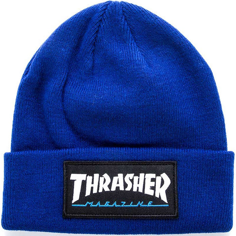 Patch Beanie (Navy Blue)