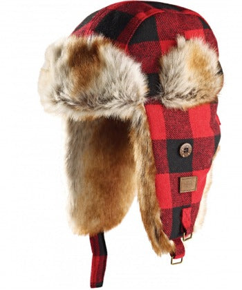 Trout Creek (Faux) Fur Lined Cap