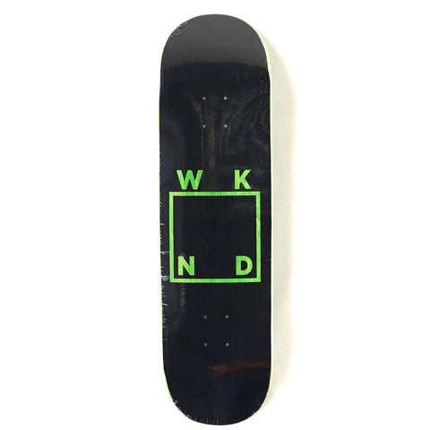 Black Logo (Green) Deck
