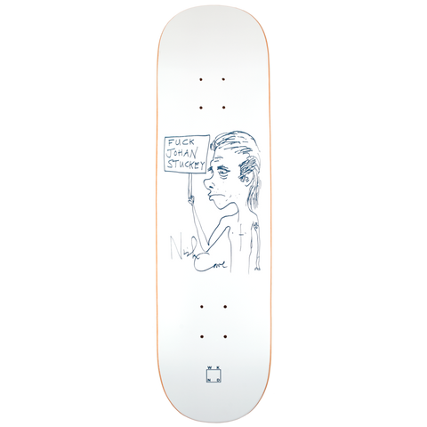 FUCK JOHAN STUCKEY BY NICK CAVE DECK