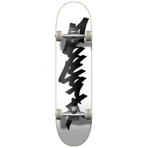 OG 95 Tag Complete Skateboard (White/Black)