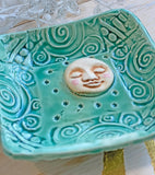 Moon Dish - Moon Prep Bowl - Salt Cellar - Trinket Dish - Wedding Favor