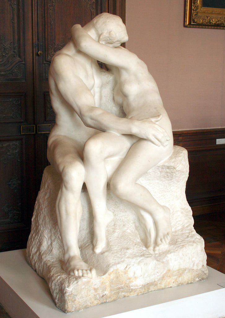 "Rodin's ""The Kiss,"" Paris, France"