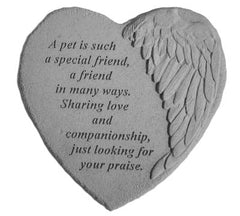 A pet is such… Memorial Garden Stone Décor