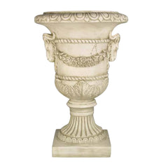 XoticBrands Ram And Garland Urn 31 - Architectural   Urns
