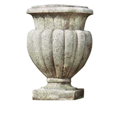 XoticBrands Carved Stadium Urn 20 H - Architectural   Urns