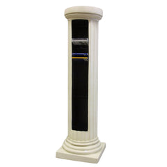 Doric Column Cd Rack - Pedestal Sculpture