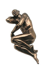 XoticBrands Nude Male - Artistic Body Sculpture Figurine