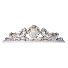 Devonshire Wall Pediment - Architectural   Over Door Plaques