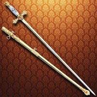 Masonic Knights Sword