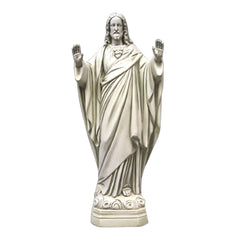 Christ Blessing Religious Sculpture