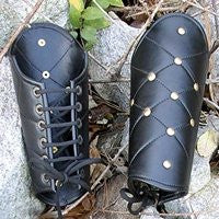 Medieval Heavy Grade Leather Vambraces