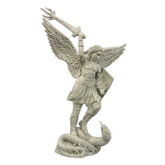 St. Michael W/Sword Fire 38 Religious Sculpture