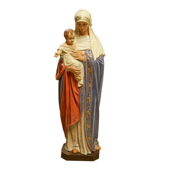 Bernese Mary & Child Religious Sculpture