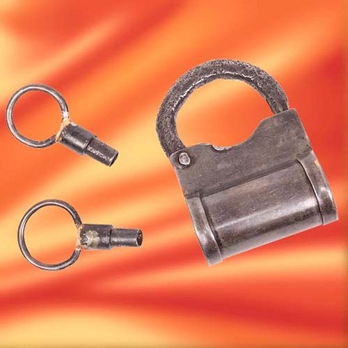 Old West Dungeon Padlock