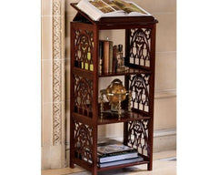 "44"" 18th Century Gothic Luxury Wooden Decorative Bookstand - xoticbrands"