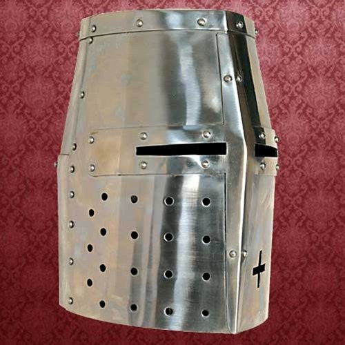Medieval English Crusader Helmet