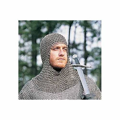 18th Century Replica Mail Armor Coif - xoticbrands