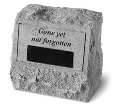 Headstone - Gone Yet Not... Memorial Pet Stone