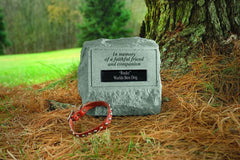 Headstone-In Memory Of A Faithful... Memorial Pet Stone