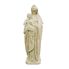 BERNESE MARY & CHILD 5' Religious Sculpture