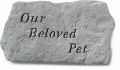 Our Beloved Pet Memorial Pet Stone