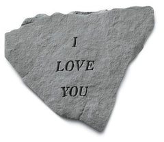 I Love You Memorial and Inspirational Stone
