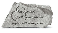 The Romance Of A Thousand... Memorial And Inspirational Stone