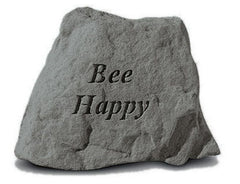 Bee Happy Inspirational Garden Stone - xoticbrands