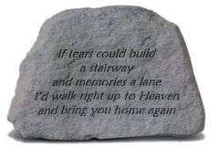 If Tears Could Build Memorial Pet Stone