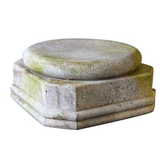 "XoticBrands Base For Jar 8.5 - Architectural   Small Pedestals -18""H"