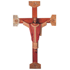 "CHRIST THE KING 36""h / NO CROSS Religious Sculpture"