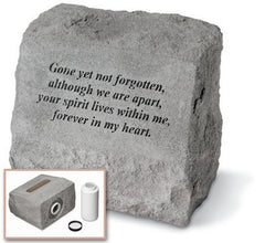 Headstone - Gone Yet Not Forgotten... Memorial Pet Stone