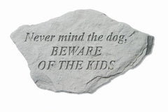 Never Mind The Dog, Beware... Memorial Pet Stone