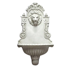 English Lion Wall Fountain  Wall Decor