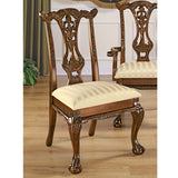CUPIDS BOW CHIPPENDALE SIDE CHAIR
