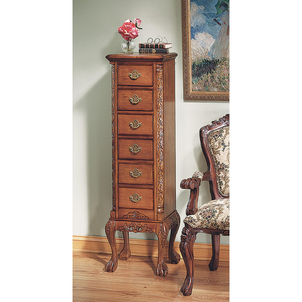 ENGLISH CHIPPENDALE TALLBOY                 OS3-