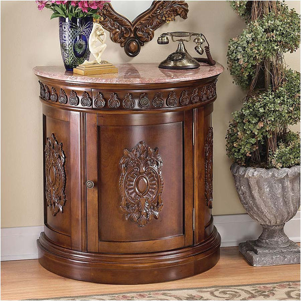 GRAND MEDALLION CRESCENT CONSOLE