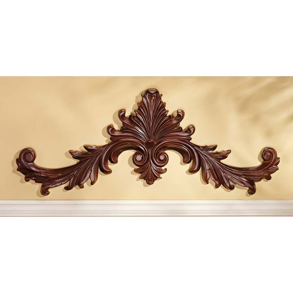 BAROQUE WOODEN PEDIMENT