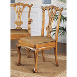 ENGLISH CHIPPENDALE SIDE CHAIR              OS3-